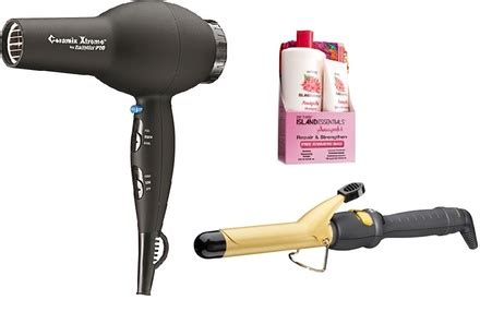 Babyliss Hair Dryer Groupon babyliss dryer curling iron and island essentials gift set groupon