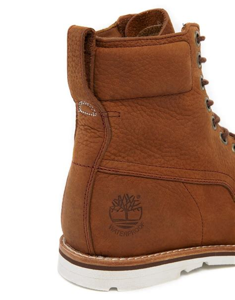 timberland earthkeeper rugged timberland earthkeepers rugged plain toe boots in brown for lyst