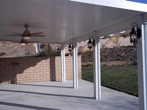 aluminum patio cover non insulated weatherwood 174 monterey insulated patio covers duralum