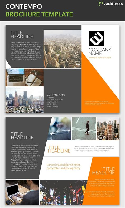 inspiration ideas brochure insert template 21 creative brochure design ideas