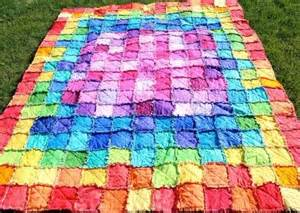 colorful quilts you to see colorful rag quilt by edofsahm