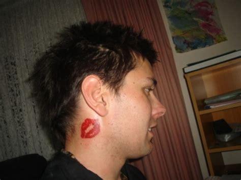 tattoo on neck kiss 39 lovely kiss neck tattoos