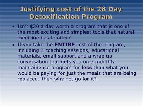 What Is The Cost Of Detox detox price i foresman