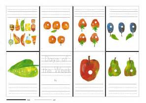 the hungry caterpillar starts to write primary efl