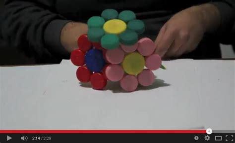 fiori con tappi di plastica ricult 9 costruire un bouquet di fiori con tappi di