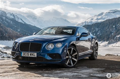 blue bentley 2016 bentley continental gt speed 2016 14 may 2016 autogespot