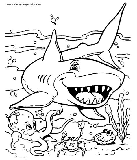 free coloring page shark free coloring pages of cow shark