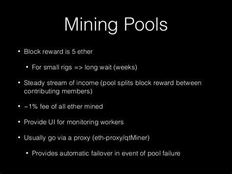 Ether Mining 1 Hashrate ether mining 101 v2