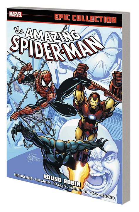 amazing spider man epic collection the amazing spider man epic collection round robin fresh comics