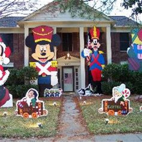 disney christmas yard decorations woodworking projects