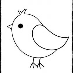 Coloring Pages Baby Bird 3 sketch template
