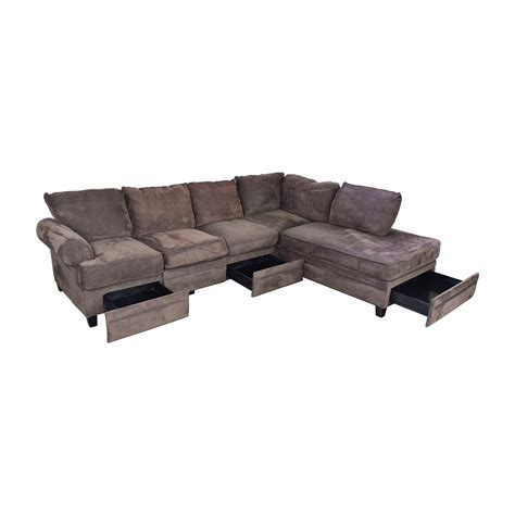 bobs furniture sectionals 55 off bob s furniture bob s furniture brown sectional