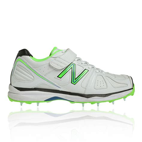new balance ck4030 mens white cricket studs spikes sport