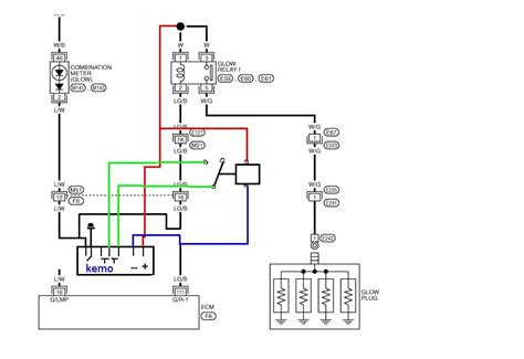 gu patrol alternator wiring diagram