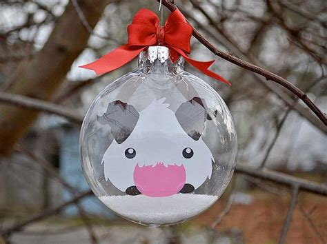 league of legends poro christmas tree ornament legends