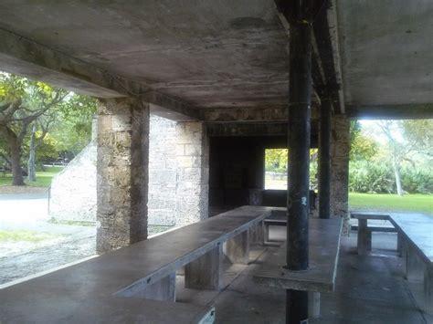 Matheson Hammock PArk Stone Pavilion Inside detail