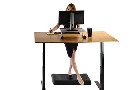 standing desk mat amazon active standing anti fatigue mat thick contoured