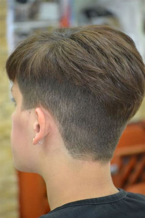 pixie cut with shaved nape pin by womens short hair styles on just napes pinterest