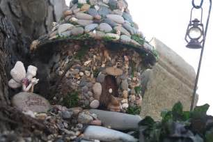 making your own house make a stone fairy house the fairy garden