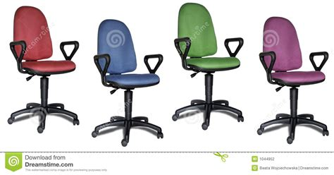Colorful Office Chairs by Colorful Office Chairs Stock Photography Image 1044952