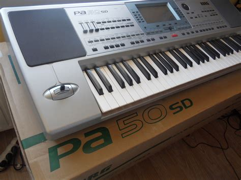 Keyboard Korg Pa50 Sd New korg pa50sd image 507034 audiofanzine