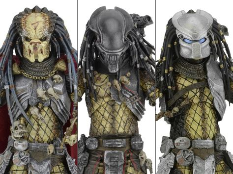 Neca Predators Series 17 Set Of 3 vs predator series 17 set of 3 elder youngblood serpent predators