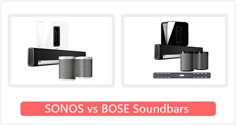 best sonos top 10 best sonos vs bose soundbars in 2018