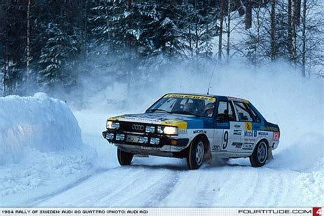 Audi 80 Rallye by Audi 80 Quattro Rally Car Photo By Audi Ag Classic
