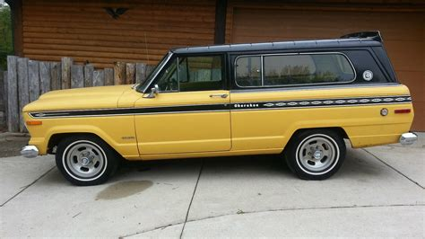 One Owner 1975 Jeep Cherokee Sport