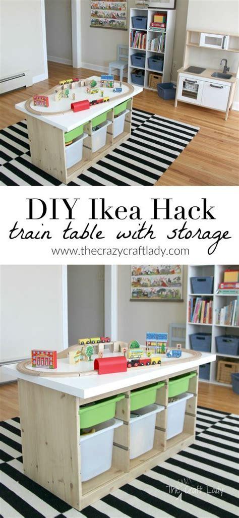 Kinderzimmer Gestalten Eisenbahn by An Ikea Hack Activity Table Kinderzimmer