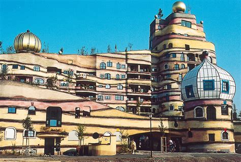 Home Building Designs by Hundertwasser S Inspiring Architecture Blackle Mag