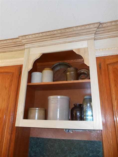 decorative trim kitchen cabinets project making an upper wall cabinet taller kitchen
