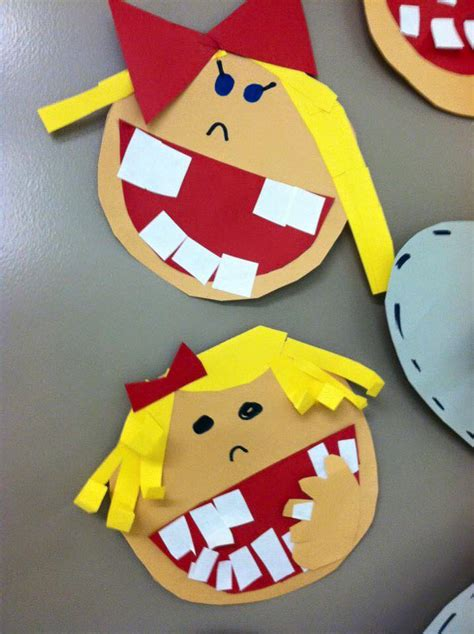 health crafts for 1st grade hip hip hooray dental health smile