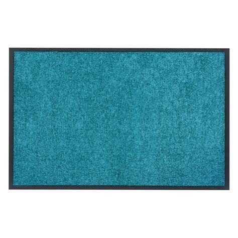 dirt barrier mat door mat plain petrol x tra clean