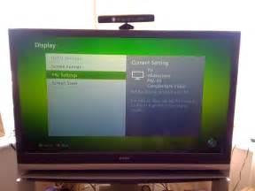 sony bravia rear projection tv problem with xbox sony