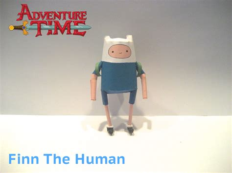 Human Papercraft - finn the human papercraft by poethetortoise on deviantart
