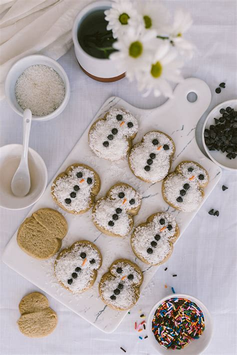 new year coconut cookies coconut snowmen cookies give recipe