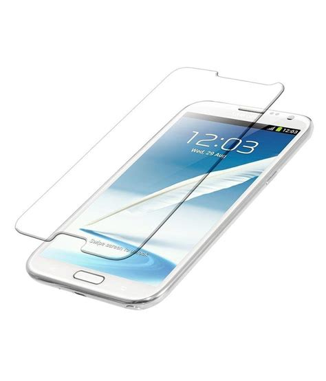 Tempered Glass N 7100 samsung galaxy note ii 7100 tempered glass screen guard by uni mobile care mobile screen