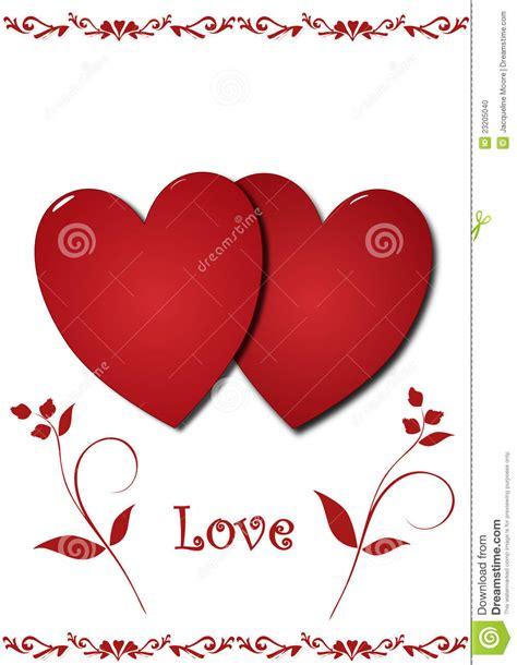 imagenes de corazones decepcionados corazones del amor stock de ilustraci 243 n imagen de rojo