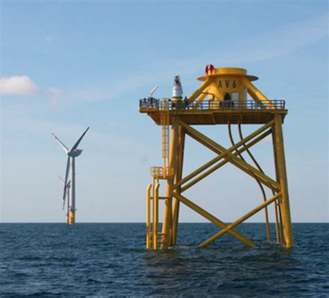 offshore jacket design exle owec tower o m design solution market ready in 12 months