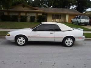 Pontiac Sunbird Se Purchase Used 1993 Pontiac Sunbird Se Convertible 2 Door 3
