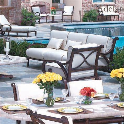 casual classics patio furniture adelante seating patio furniture by cast classic