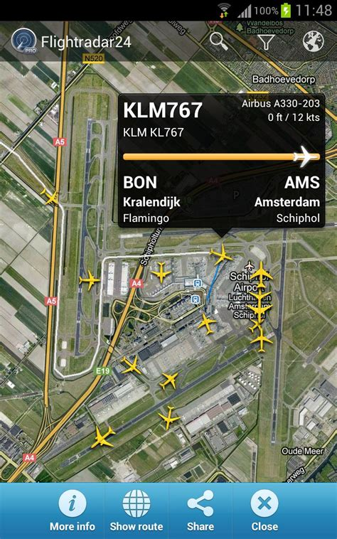 flightradar24 pro see what s happening above you right now android app reviews androidpit - Flightradar24 Pro Apk