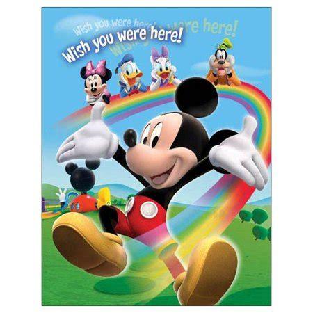 Disney Mickey Photo Album Small disney mickey mouse rainbow small photo album 100