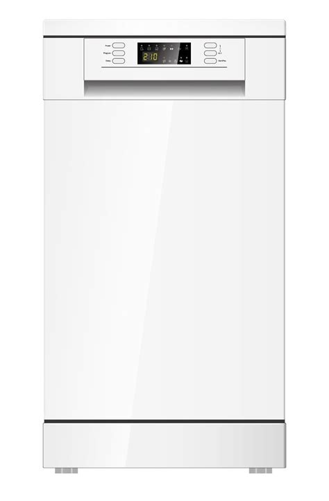 free standing dishwasher cabinet pkm dw9a 7 dishwasher 45cm white free standing