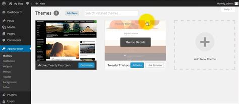 wordpress theme quickstep install a wordpress theme in your website using ftp a