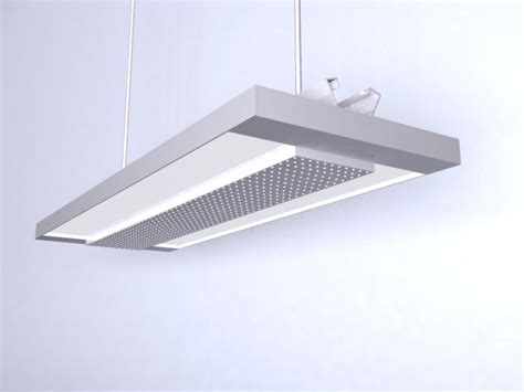 fluorescent light 3d model hanging fluorescent grid l 3d model 3dsmax files free