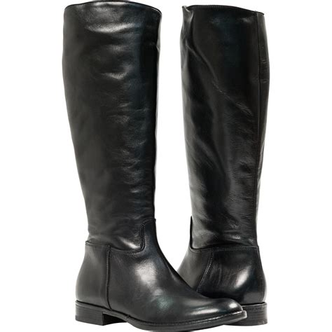 mens black leather riding boots womens long black boots sale fashion boots