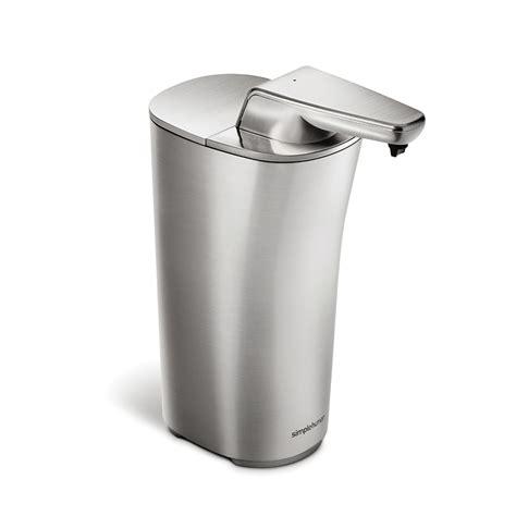 Simplehuman Shower Soap Dispenser by Shop Simplehuman Brushed Nickel Soap Lotion Dispenser At