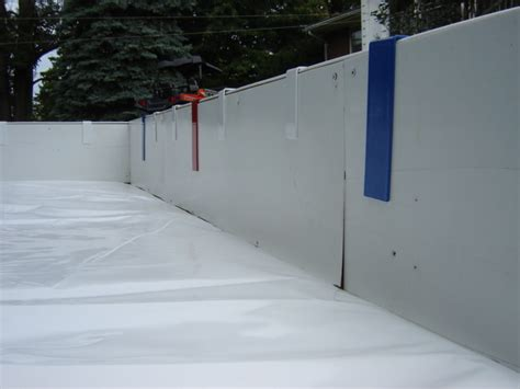 Backyard Hockey Rink Liner by 100 Backyard Rink Kits Skating Rink Returns